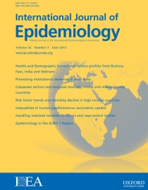 American Journal of Epidemiology - Oxford University Press